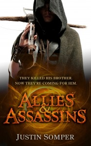 Allies and Assassins - Book 1 - final cover design UK - cropped